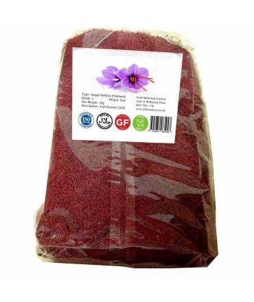 100g Vacuum Pack Iranian Grade 1 Sargol Saffron Filament