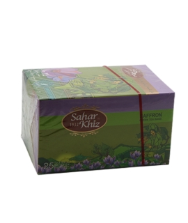 Saffron Green Tea 25 Teabags