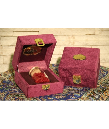 Saharkhiz Saffron Gift Set + 1g Sargol + Pestle + Mortar
