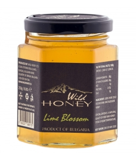 Raw Lime Blossom Honey Bulgaria 250g