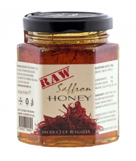 Raw Set Saffron Wildflower Honey 250g