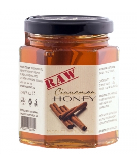 Raw Wildflower Honey + Organic Cinnamon 250g