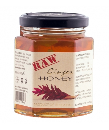 Raw Wildflower & Organic Ginger 250g