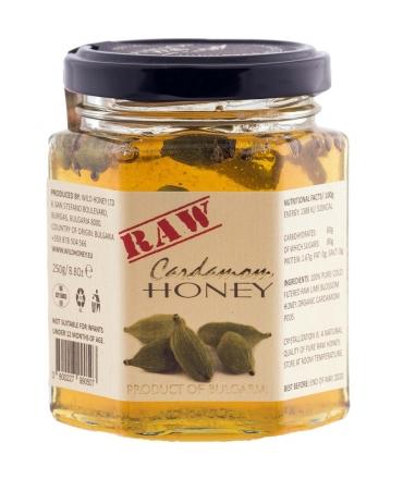 Raw Lime Blossom & Organic Cardamom 250g
