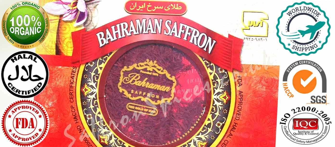 Organic Iranian grade 1 Saffron